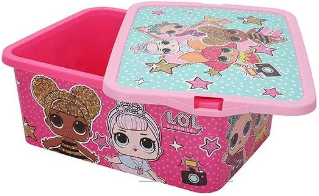 ColorBaby Caja Ordenar Click 13l LOL Surprise 15x39x29cm: Amazon.es: Hogar