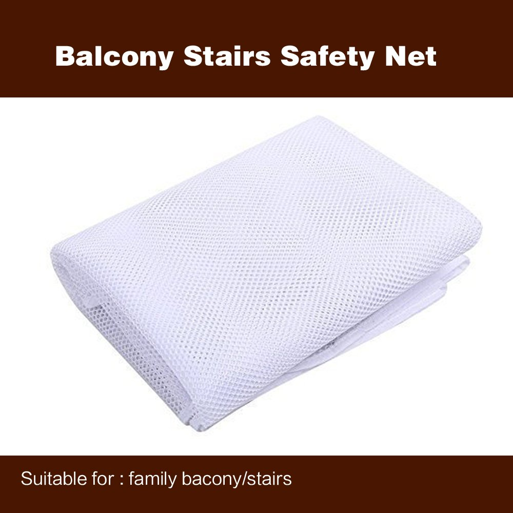 Amazon.com : HILTOW Balcony Stairs Safety Net For Children (118inch, Thick)  : Baby