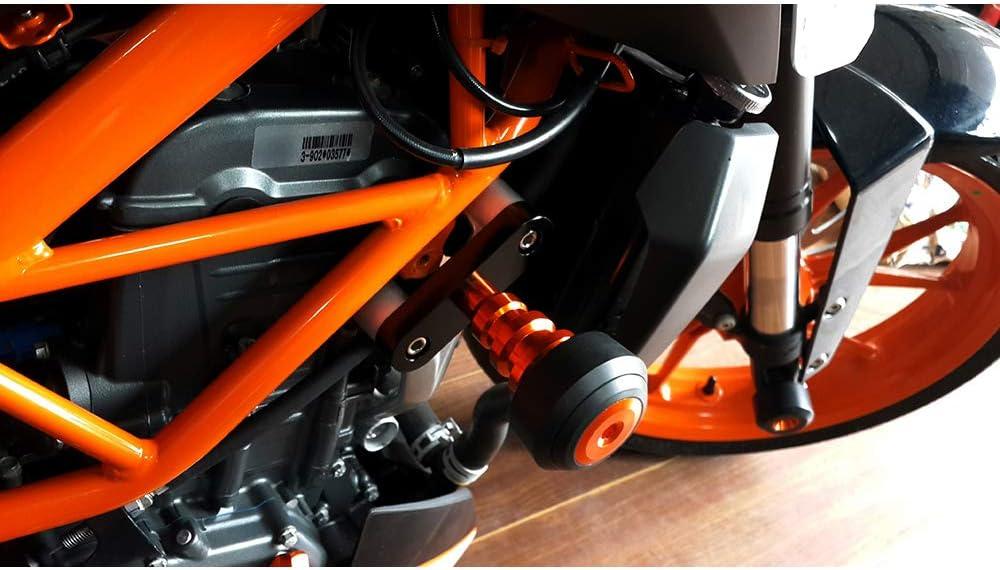 Telaio anticaduta Lega di Alluminio CNC Protezione anticaduta di Slider per KTM Duke 125 200 390 2013-2018 Duke 250 2017-2018 Copertura Protettiva Moto