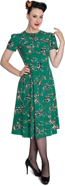 Hell Bunny Aggy Rockabilly Vintage Retro Day tea Dress 2XL-4XL