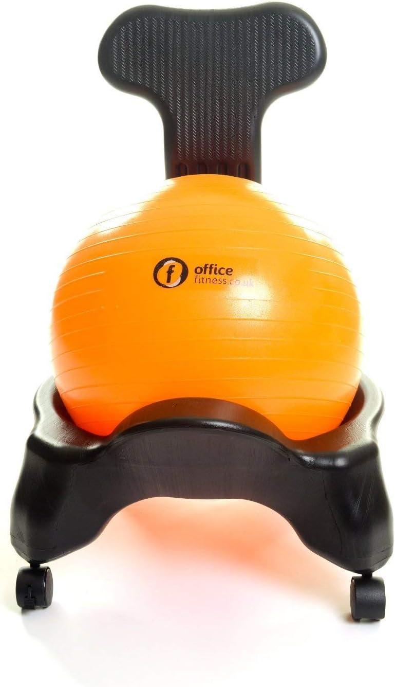 Silla de Oficina Pelota de Fitness Fijo Respaldo Modelo con Libre Bola de