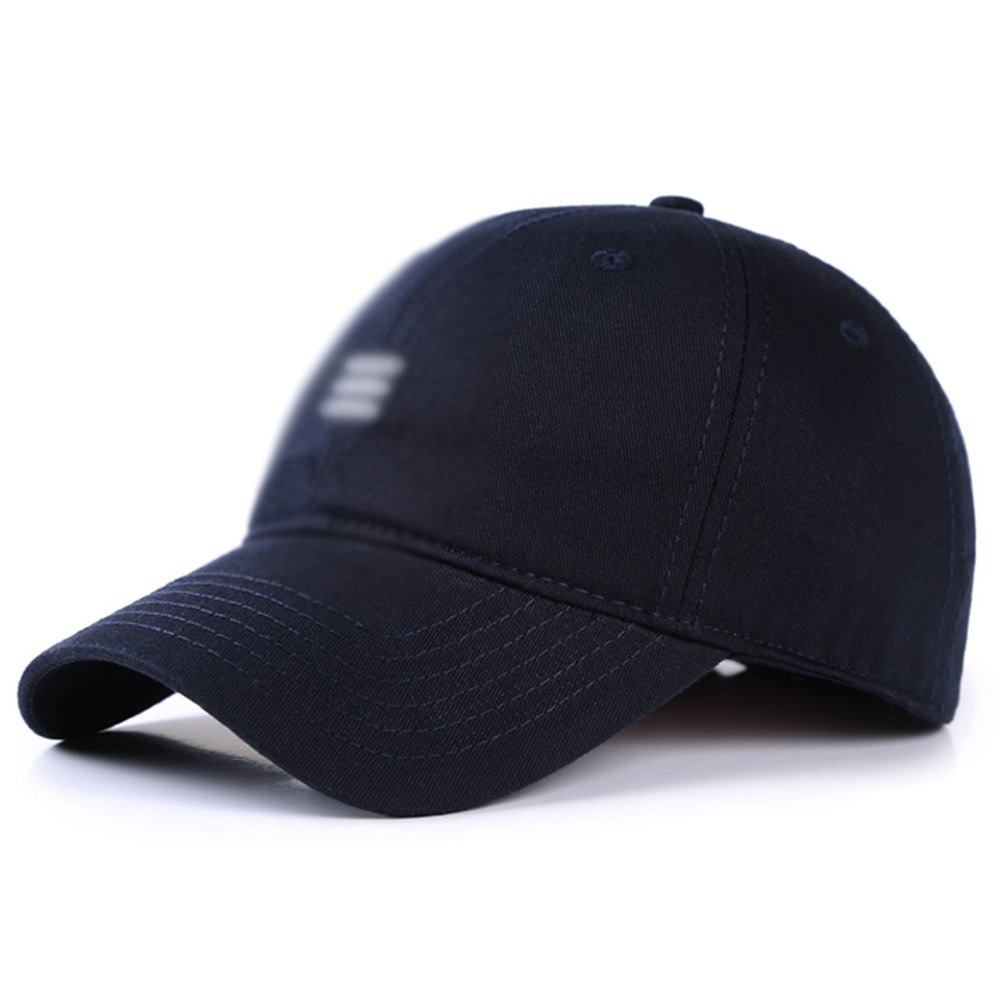 HUO Hut Baseball-Cap der Hut-Frühlings-Männer im Freien tiefe Sommer-Sonnenschein-Kappen-Visier kühl trocken ( Farbe : A , größe : 55-61cm ) größe : 55-61cm )