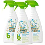 Babyganics Multi Surface Cleaner, Fragrance Free, 32 oz (Pack of 3), Packaging May Vary