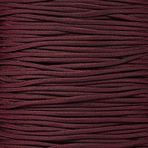 PARACORD PLANET 550 Cord Type III 7 Strand Paracord 100 Foot Hank - Burgundy