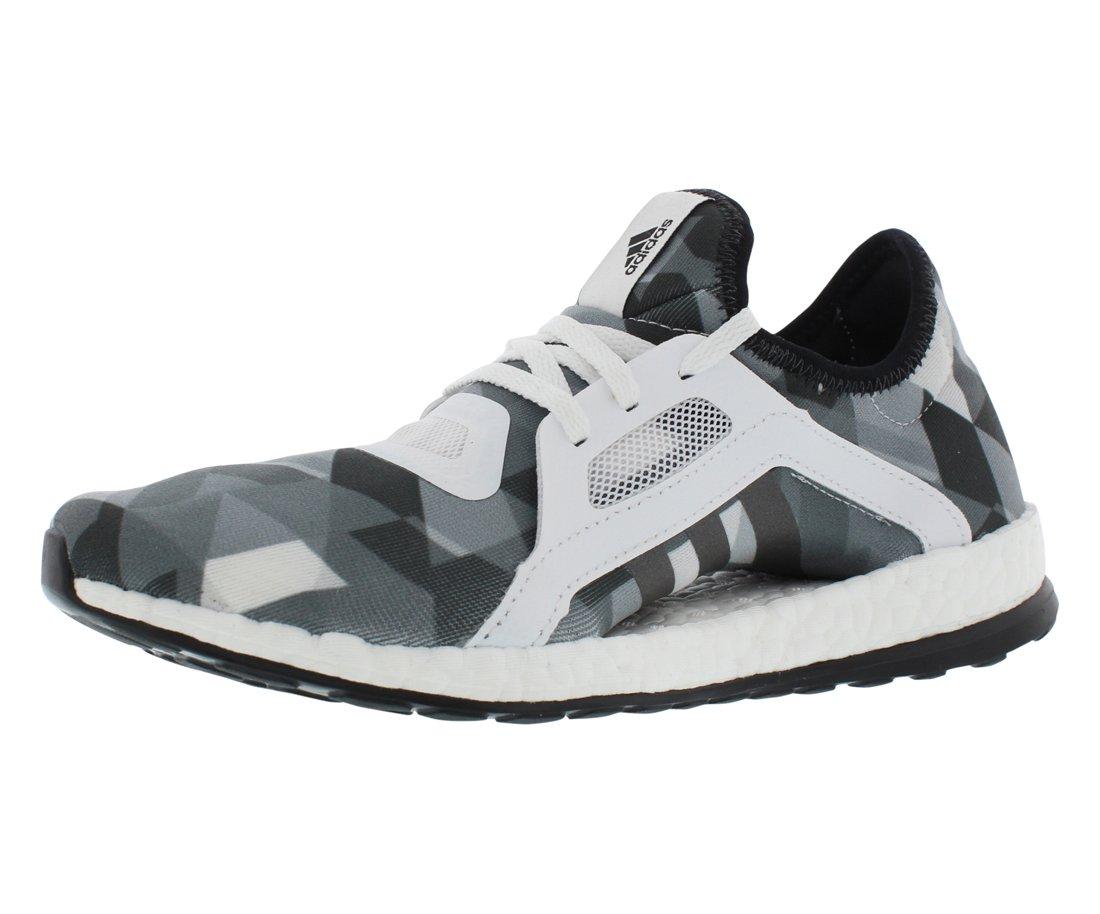 adidas Performance Women's Pureboost X Running Shoe B01HSUM4SK 9.5 B(M) US|White/White/Black