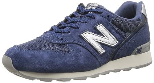 471840ca6c9 New Balance - Zapatillas de Piel para mujer azul azul marino  Amazon.es   Zapatos y complementos