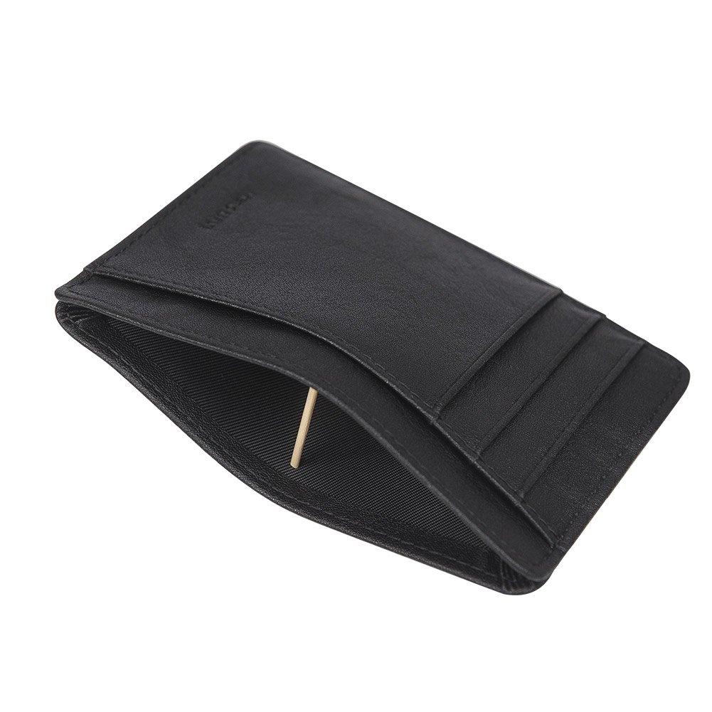 Slim Wallet Front Pocket Wallet Minimalist Secure Thin Credit Card Holder
