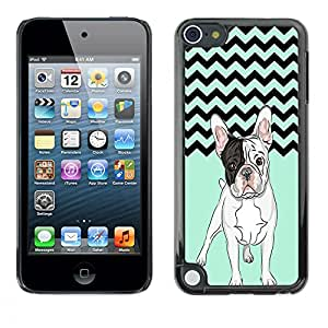 - Ocean Seas - - Hard Plastic Protective Aluminum Back Case Skin Cover FOR Apple iPod Touch 5TH GEN Queen Pattern