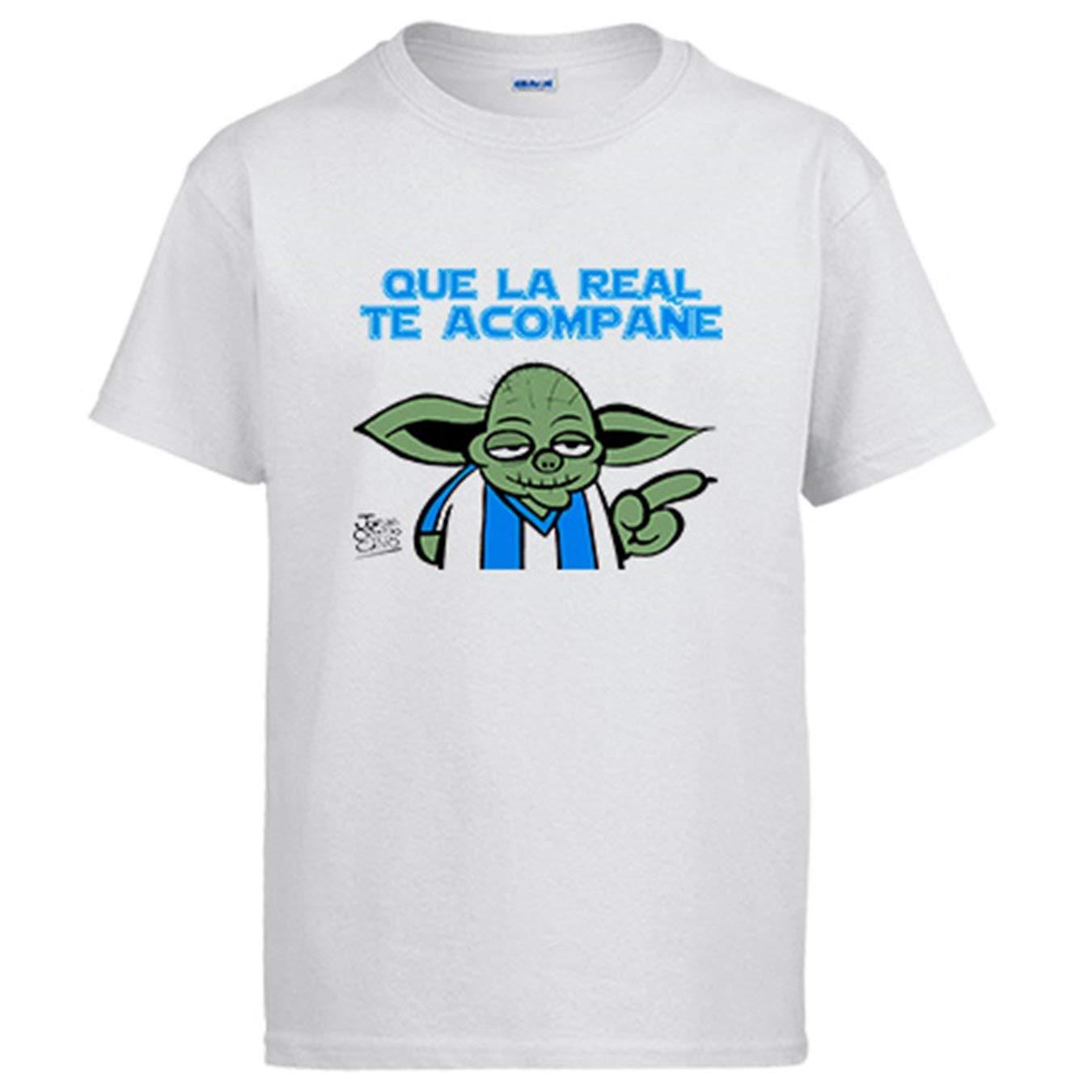 Diver Beb/é Camiseta Que la Real te acompa/ñe