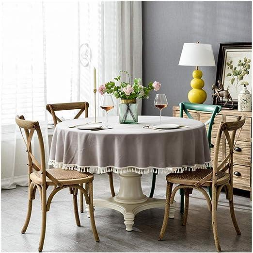 mantel hule mesa rectangularMantel imitación algodón y lino mesa ...