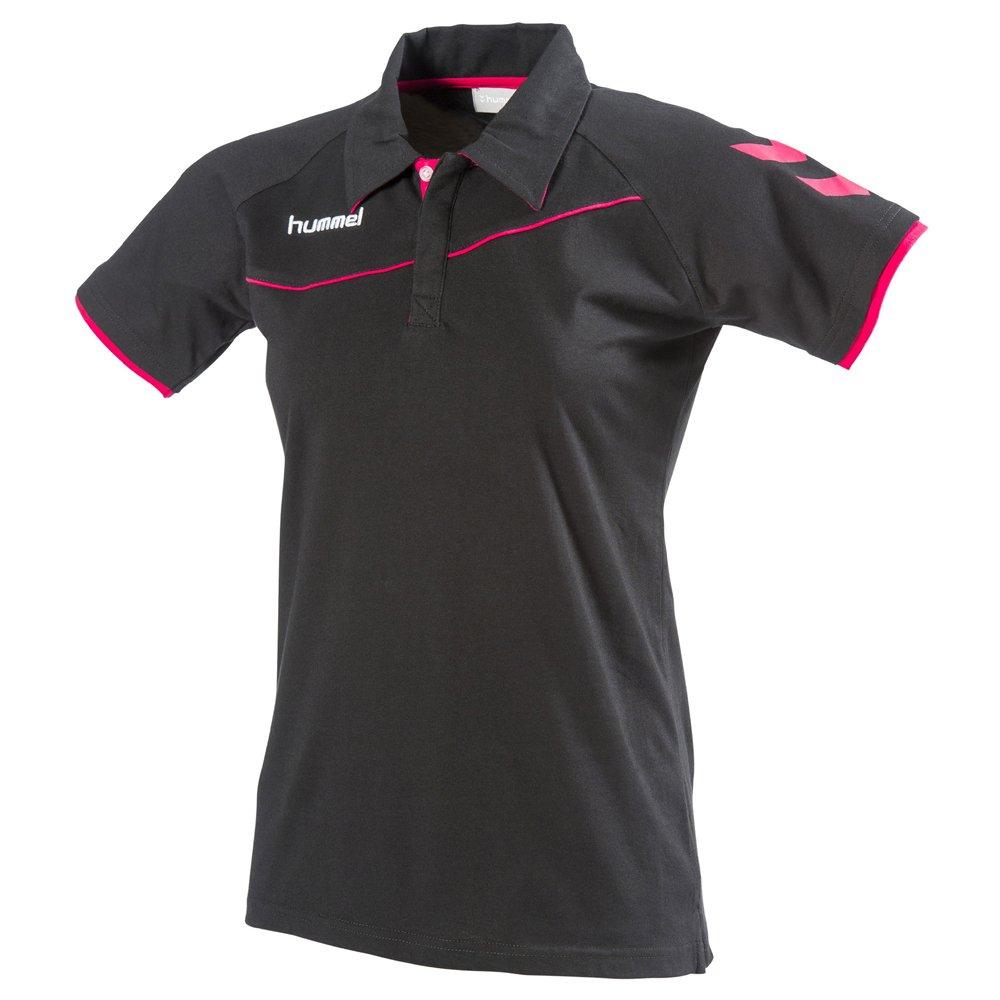 Hummel Polo Corporate Poly, Negro, Rosa, S: Amazon.es: Deportes y ...