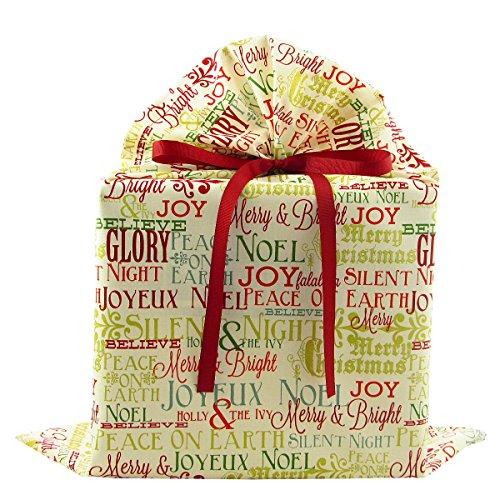 Christmas Greetings Reusable Fabric Gift product image