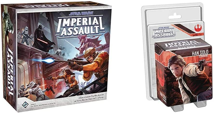 Imperial Assault Game Star Wars Rebel Troopers Ally Pack L