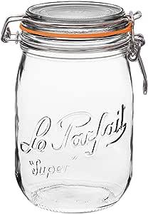 Le Parfait Super Jars - Discontinued (2 Pack, 1000ml - 32oz - OLD)