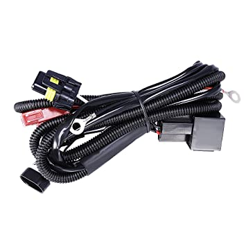 HID Relay Wiring Harness Xenon HID Conversion Kit Universal Single on