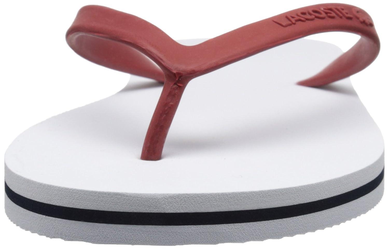 Womens lacoste sandals - Amazon Com Lacoste Women S Ancelle Slide 116 2 Flip Flop Flip Flops