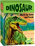 Peaceable Kingdom Dinosaur Match Up Memory Game and Floor Puzzle