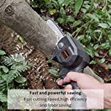 F.EASY.D Mini Chainsaw 4-Inch Cordless Electric