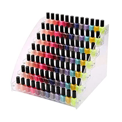 Amazon.com: 7 Tiers Acrylic Lipstick Holder Display Stands Essential ...