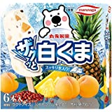 丸永製菓 マルチザクッと白くま 55ml×6×8袋