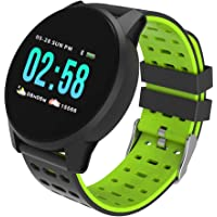 OutTop(TM) Ky108 Android Smart Watch for Women Men,Tooth Heart Rate Oxygen Blood Pressure Touchscreen Smart Watches Sports Fitness Tracke Compatible Samsung iOS Phones