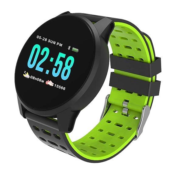 Baiomawzh Reloj Inteligente Bluetooth, Smartwatch Pantalla ...