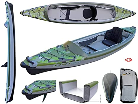 BIC Sport - Canoa Gonfiabile Yakkair Full HP 1 One 101497 + ...