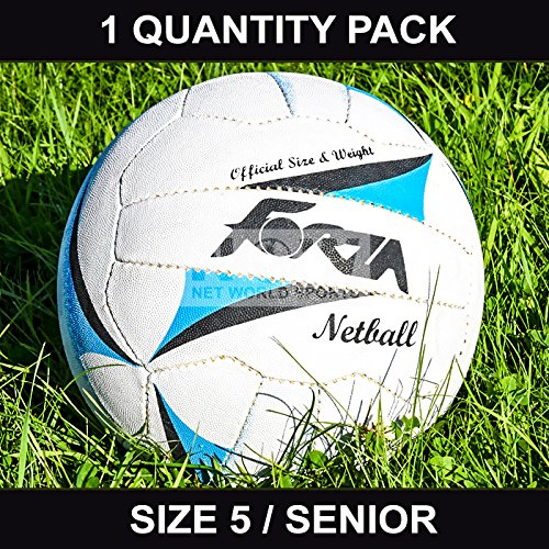 FORZA Match Netball [Senior] - Size 5 - Perfect for schools, colleges and professional teams - [Net World Sports]