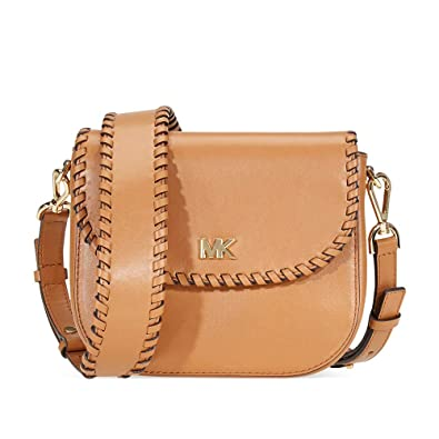 52fe8a595efa Michael Kors Ladies Whipstitched Acorn Leather Saddle Bag 32F8GF5C8O203   Handbags  Amazon.com