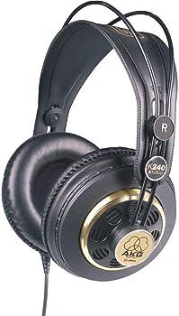 AKG K240 Studio Semi-Open Over-Ear Professional Headphones