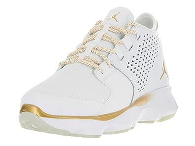 660e4311263 Amazon.com: Nike Mens Flow, White/Gold/Platinum, 11.5: Clothing