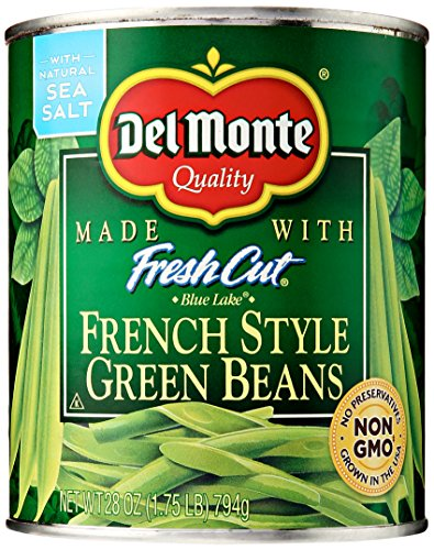 - Del Monte Foods French Style Green Beans, 28 oz