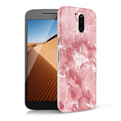 Mosoris Funda Motorola Moto G4 Plus/G4 TPU Silicone Carcasa, Mármol Suave Goma Case Ultra Delgado Flexible Gel Anti-Rasguños Patrón Granito Tapa Anti ...