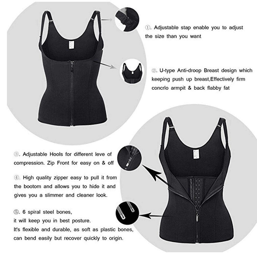 Acecoree Women U-shaped Breast Anti-droop Body Shapewear Slimming Corset Bustiers and Corsets