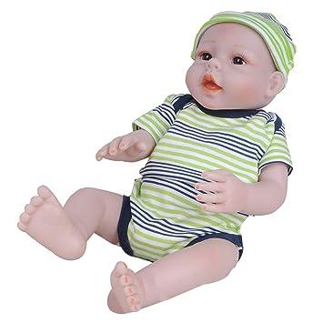 20inch Realistic Baby Doll Native American Newborn Infant Boy Doll Model Toy