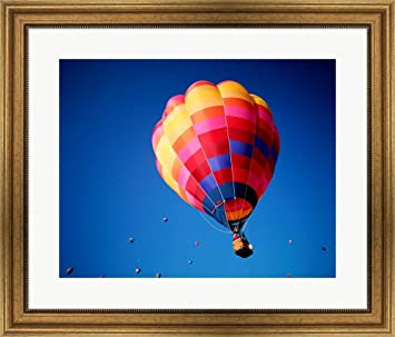 Amazoncom Lone Hot Air Balloon With Other Hot Air Balloons In The