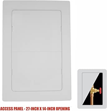 Watts APU9 8-Inch by 8-Inch Spring Fit Access Panel
