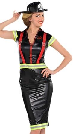 erdbeerloft - Mujer bombero, disfraz de bomberos, carnaval ...
