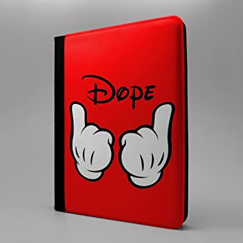 Mickey Mouse Dessin Anime Tablette Flip Coque Pour Apple Ipad Pro 24