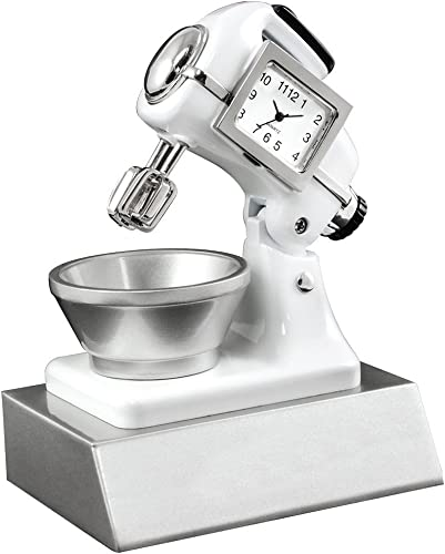 Design Gifts Miniature Kitchen Mixer Clock Novelty Collectors