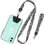 SHANSHUI Phone Lanyard, Neck Strap and Wrist Tether Key Chain Holder