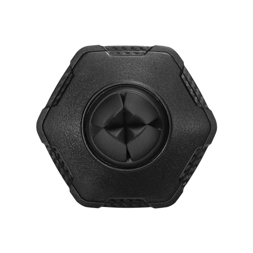 Sostenedor Magn/ético del Tel/éfono para el Coche Spigen KUEL QS11 Dise/ño de carbono en forma hexagonal para la ventilaci/ón de aire gira 360/° grados y F/ácil aplicaci/ón
