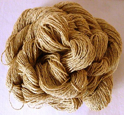 Colonial Antique Beige Cotton Blend Fingering Weight Crochet Yarn Thread - Antique Beige Machine
