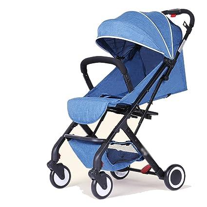 subbye cochecitos bebé Stroller Alta paisaje se puede sentado se puede plegar carrito de bebé cochecito