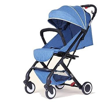 subbye cochecitos bebé Stroller Alta paisaje se puede sentado se puede plegar carrito de bebé cochecito de bebé bebé carrito: Amazon.es: Deportes y aire ...
