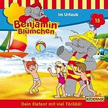 Benjamin im Urlaub (Benjamin Blümchen 15) Hörspiel von Elfie Donnelly Gesprochen von: Edgar Ott, Frank Schaff-Langhans, Joachim Nottke
