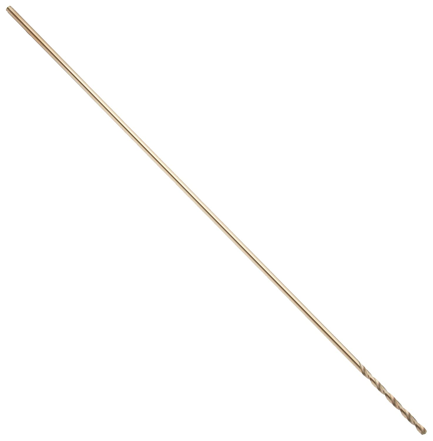 Precision Twist CO500 12 Cobalt Steel Extra-Long Drill Bit 13//64 Round Shank Bronze Oxide Finish Pack of 6 Spiral Flute 135 Degree Point Angle
