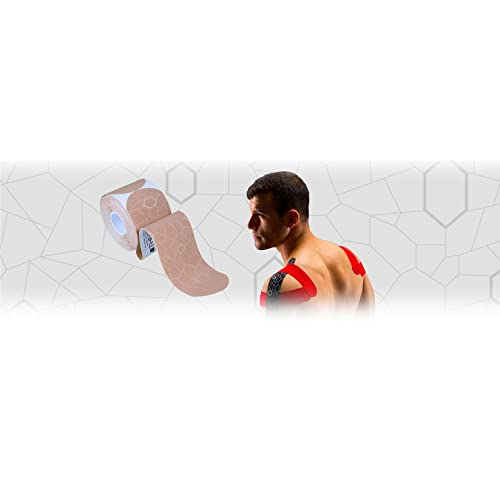 TheraBand Kinesiology Tape, Waterproof Physio Tape for Pain Relief, Muscle & Joint Support,