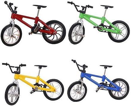YeahiBaby Dedo Bicicleta de montaña 4 piezas 1:18 novedad en ...