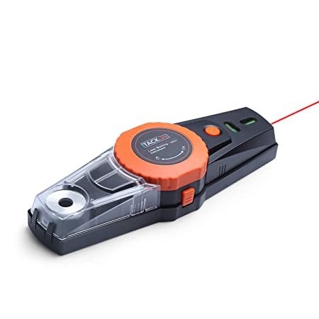 Linienlaser Laser Wasserwaage mit Vakuumpumpe, Bohrmaschine Lochpositionierung und Abnehmbar Staubsammelbox, Laserlinie Laser